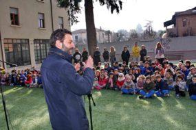 Il segretario all'Istruzione Toccafondi in visita alle scuole del Sacro Cuore